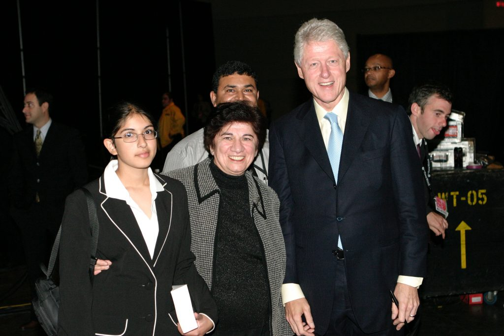 nadya khoja bill clinton